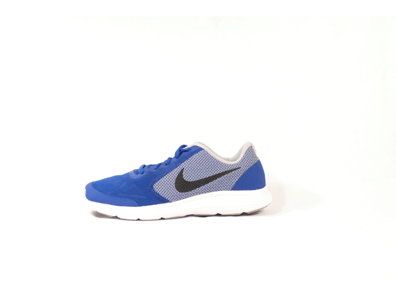 NIKE REVOLUTION 3 (GS), 4.5, BINARY BLUE/WHITE-DEEP ROYAL B