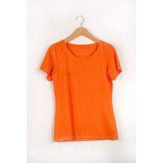 Damen-Wanderbluse  T Shirt Verviers2, 40, mandarin red