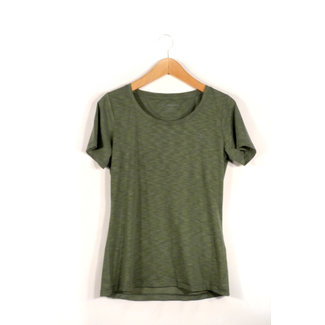 Damen-Wanderbluse  T Shirt Verviers2, 44, agave green