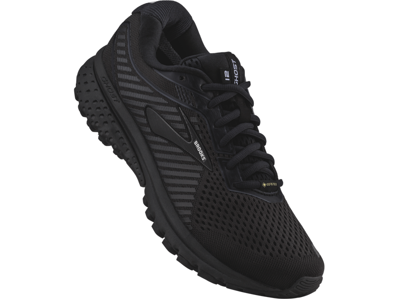 Damen-Joggingschuh Ghost 12 GTX, 6, Black/Ebony/Black