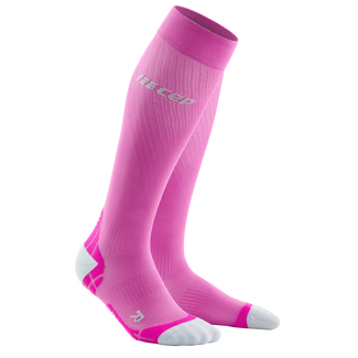 Sportsocken Run ultralight Socks women, 2, pink-grau
