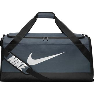 Sporttasche Nike Brasilia Duffel Bag, L, FLINT GREY/BLACK/WHITE