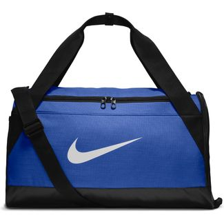 Sporttasche Nike Brasilia Duffel Bag, S, GAME ROYAL/BLACK/WHITE