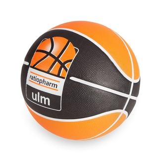 Fan-Accessoires BBU Spalding Basketball ratiopharm, schwarz/orange