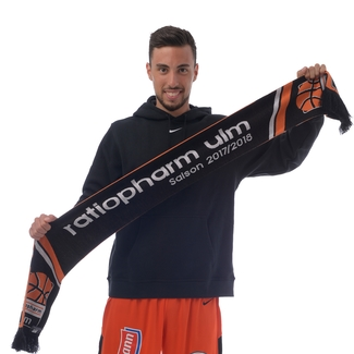 Fan-Accessoires BBU HD Strickschal Saison 17/18, Schwarz/Orange