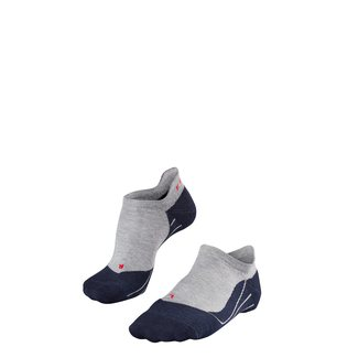Sportsocken RU4 Invisible, 42-43, grau-blau