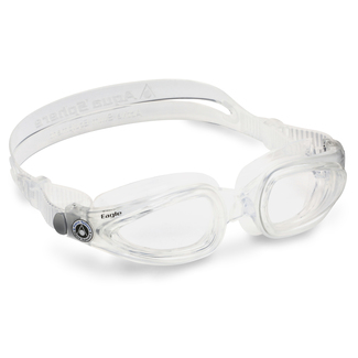 Schwimmbrille Eagle Optic, L, transparent