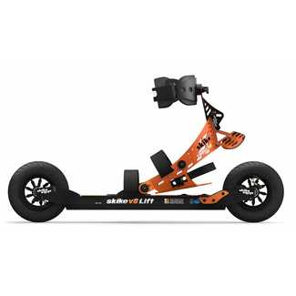 Rollski SKIKE V8 Lift Cross 2R, schwarz/orange
