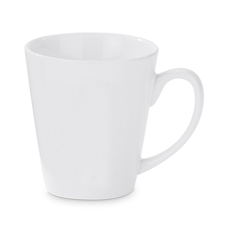 Individualdruck Tasse Latte, weiß