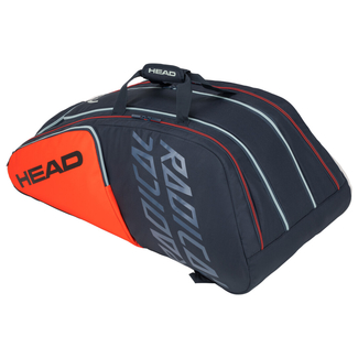 Tennistasche Radical 12 R Monstercombi, 72,5 Liter, orange-grau