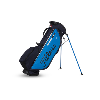 Golfstandbag Players 4+, blau-schwarz