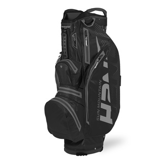 Golftrollybag H2 NO CA light WP, schwarz,  10""