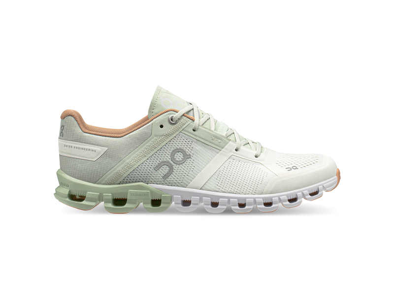 Damen-Joggingschuh Cloudflow, 6.5, aloe white