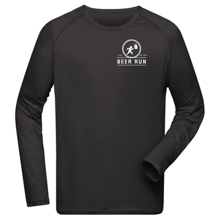 Beer Run Herren Sweat, S, schwarz