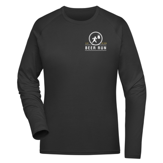 Beer Run Damen Sweat, XS, schwarz