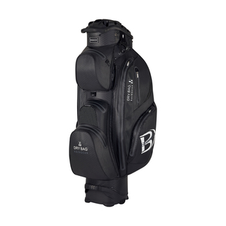 "Golftrolleybag QO 14 DB WP oversize +2"", 10"", Black"