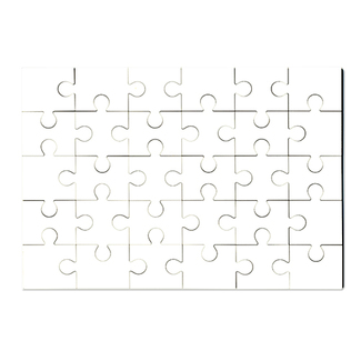 Holzpuzzle 175 x 250 x 3 mm, 30 Teile