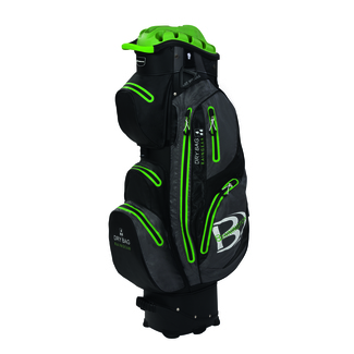 "Golftrollybag QO 14 WP, 10"", Black/Grey/Lime"