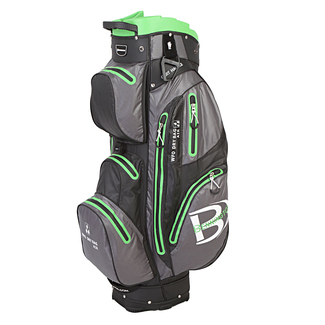 "Golftrollybag WFO WP, 9.5"", Black/Grey/Lime"