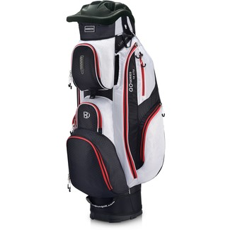 "Golftrollybag QO 14 Lite, 10"", Black/White/Red"
