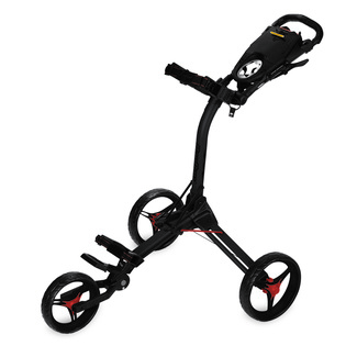 Golftrolly Compact C3, Black/Red accent