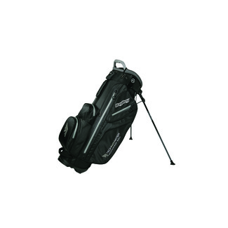"Golfstandbag Techno 259 Waterproof, 8.5"", Black/Silver"