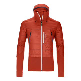 Herrenjacke PIZ PALÜ, L, Orange