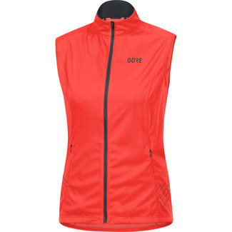 Leichte Damen-Laufjacke R5 Windstopper® Weste, 40, Orange