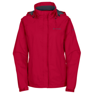 Damen-Regenjacke Escape Bike Light Jacket, 44, Rot