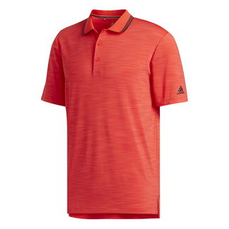 Herren-Golfpolo Ultimate 365 Textured Striped, XL, Rot