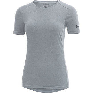 Damen-Lauftrikot Essential Lady Shirt, 40, Grau