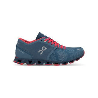 Damenschuh Cloud X   4.5, Blau/Pink